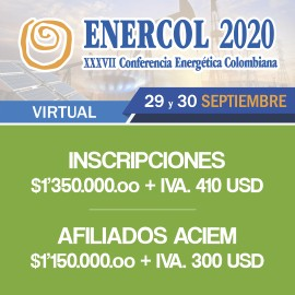 ENERCOL 2020 XXXVII Conferencia Energética Colombiana Virtual