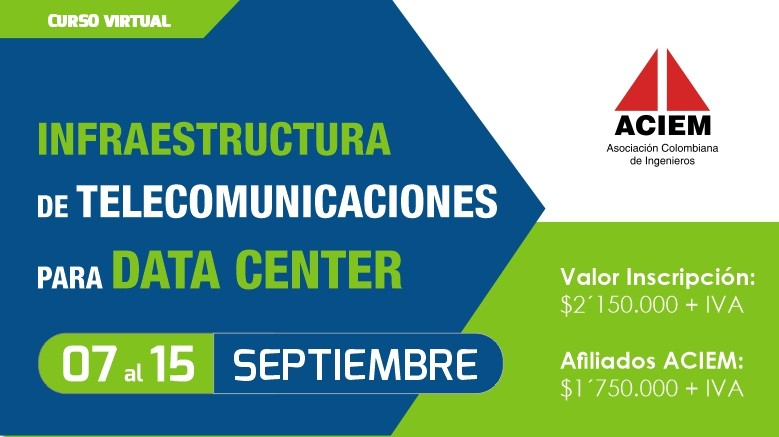 Curso Virtual Infraestructura de telecomunicaciones para data center